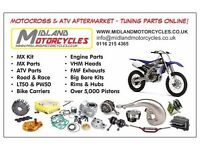 Engine parts crf CR yz yzf RM RMZ KTM KX KXF 250 125 450 Motocross ENGINE & PARTS WISECO WOSSNER