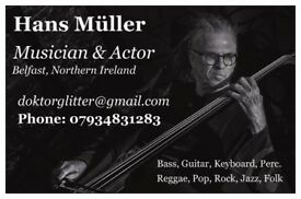 Musician searching band in Belfast NI