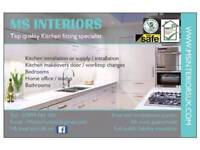 Quality Kitchen fitter based in Wolverhampton.