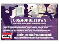 COSMOPOLITOWN: Multicultural, Arts and Entertainment Community, Maidenhead + Reading