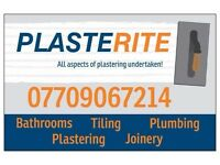 Plasterite plumbers plasterers joiners tilers painter and decorator plasterer bathroom fitter