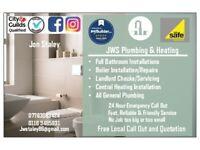 JWS Plumbing & Heating. Plumbing, Bathrooms, Boilers, Central Heating