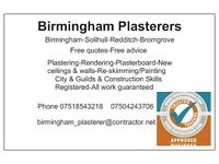 LOCAL RELIABLE PLASTERER-RENDERER-SKIMMING--TILING-ceilings/walls/builder/bathroom/kitchen/handyman