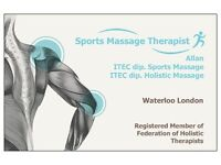 Professional Male Sports and Holistic Massage Therapist