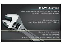 DAW Autos - Car mechanic & Recovery service on call 24/7