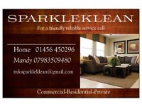 SPARKLEKLEAN Commercial-Residential-Private