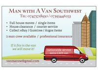 Removals / house move / furniture / southwest