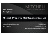 Property maintenance in Edinburgh