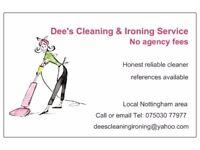 Dee's Domestic Ironing Service - nottingham