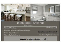 Granite, Marble & Qourtz kitchen worktops and Glass splash back supply and fit