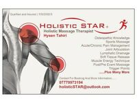 Holistic Massage Therapist *Holistic STAR* WHOLE BODY MASSAGE~ SPECIFIC THERAPY~INJURY RECOVERY