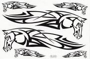 Motorcycle Tribal Stickers