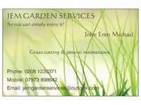 JEM Garden Services/Grass cutting, Hedge trimming, Clearance, Jet Cleaning, General maintenance