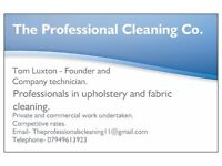 Professional Carpet Cleaning.