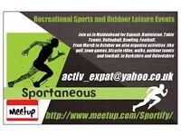 Sportaneous: Football and Squash Group, Maidenhead