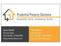 Landlords: 5 years rental with Guaranteed Rent - NO fees - No Voids - Free Maintenance