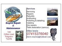Marine mobile engineering and yacht maintenance