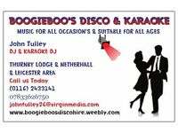 DISCO & KARAOKE - Music for all occasions... Book us for your Christmas Party