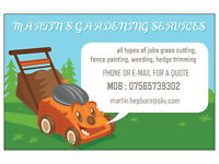 martins gardening services and small removals