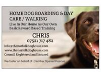 PRIVATE HOME DOG BOARDING & DAY CARE