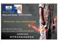 Painting and decorating , Handyman and General Building , Maintenance ,OMA Solutions