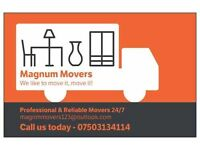 Removals company courier service storage house and office man and van mercedes sprinter removals