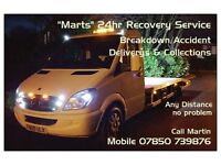24hr Car Recovery (Fully Insured)