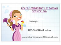 EMERGENCY CLEANING SERVICES 24H - ALL EDINBURGH- CLEANING CARPETS-PAINTING-MAINTENANCE
