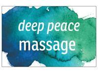 Professional massage and shiatsu therapist