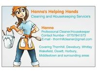 Hanna's Helping Hands - Cleaning & Housekeeping Services