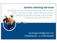 cleaning services residential or commercial,pet care ,shopping ,driving ,gardening ,painting,lots +