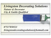 City & Quilds Qualified Painter & Decorator