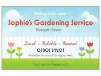 Sophie's Gardening Service