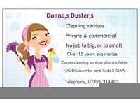 DONNA,S DUSTERS