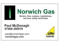 NORWICH GAS - Gas Man Gas Safe Engineer