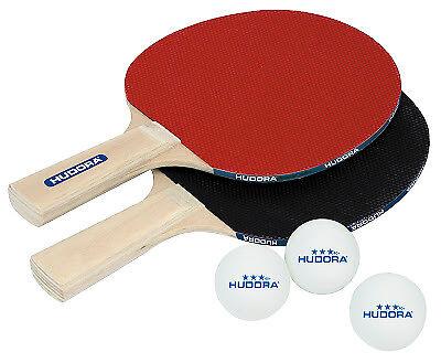 Tischtennisset Match 2.0 Tischtennis Set 5 mm Schichtholz 2 Schläger 3 Bälle