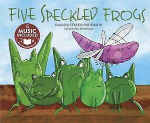 Five Speckled Frogs by Anderson, Steven -Paperback