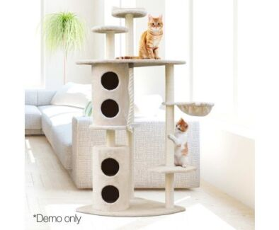 HUGE and FUN cat scratching pole - Your Cat Will Just Love This