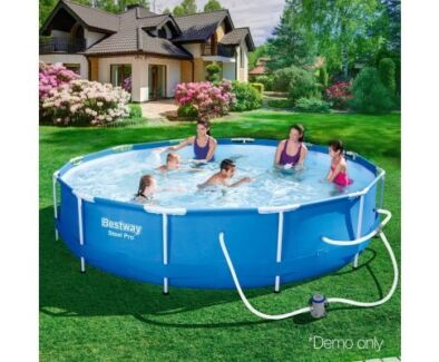 Get Ready For Summer - Steel Pro Round Frame Pool 76CM
