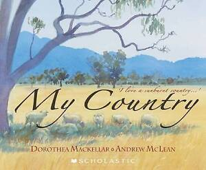 NEW My Country By Dorothea Mackellar Paperback Free Shipping