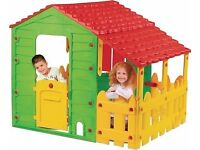 Kids Playhouse with 2 side porches