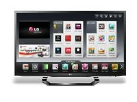 LG 47 inch Full HD 1080p TV & Blue Ray Player & 4 3d glasses