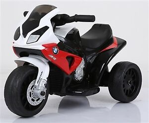 Licensed BMW S1000 RR Three Wheel Motorcycle Child Ride On Toy