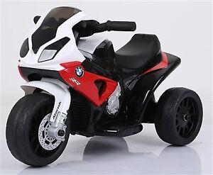 Licensed BMW S1000 RR Three Wheel Motorcycle Child Ride On Toy w