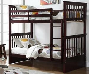 LORD SELKIRK FURNITURE - Sydney Twin / Twin Bunk Bed Frame