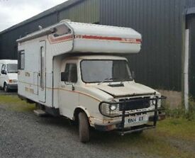 Classic Sherpa coachbuilt camper van motorhome
