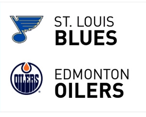 Oilers vs St.Louis Blues Front Row Tickets