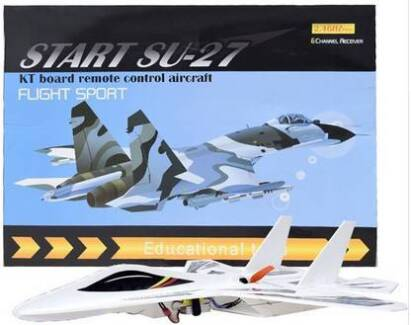 Very Big 6ch RC Plane Powerful Engine - New Boxed Stocks