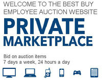 Best Buy Auction Site Invitation $5
