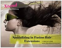 Fusion Hair Extensions at Twilight Tan now starting at $299!